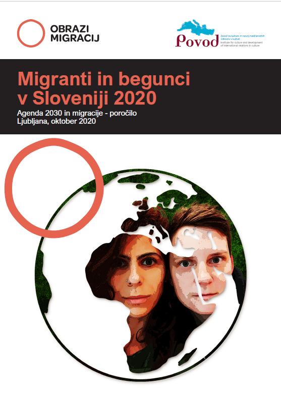 Obrazi migracij, naslovnica SLO