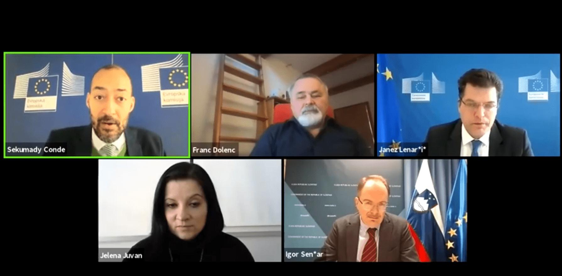 Razprava EU in krize