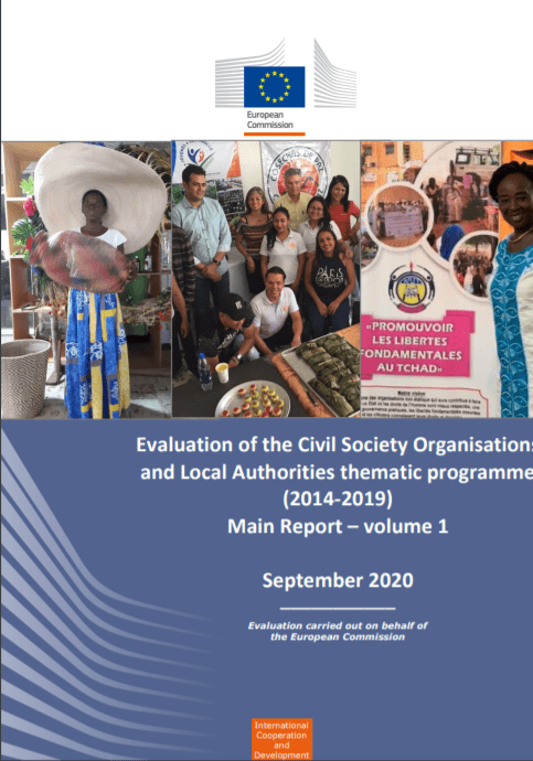 EK: Evalvacija programa CSO-LA za obdobje 2014 – 2020