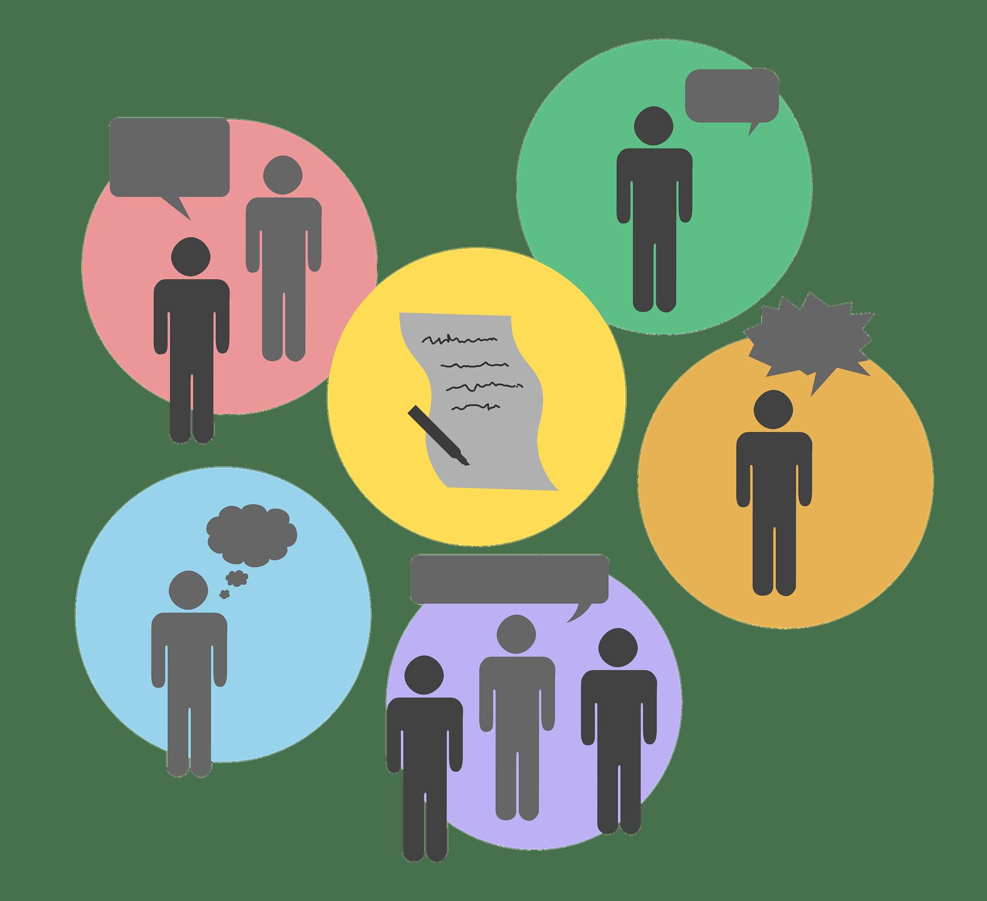 Diskusija. Vir: Pixabay