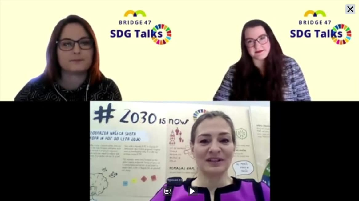 SDG Talks: mag. Nataša Adlešič Barba, MZZ