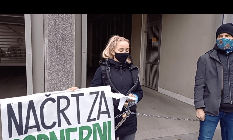 Protest Mladih za podnebno pravičnost
