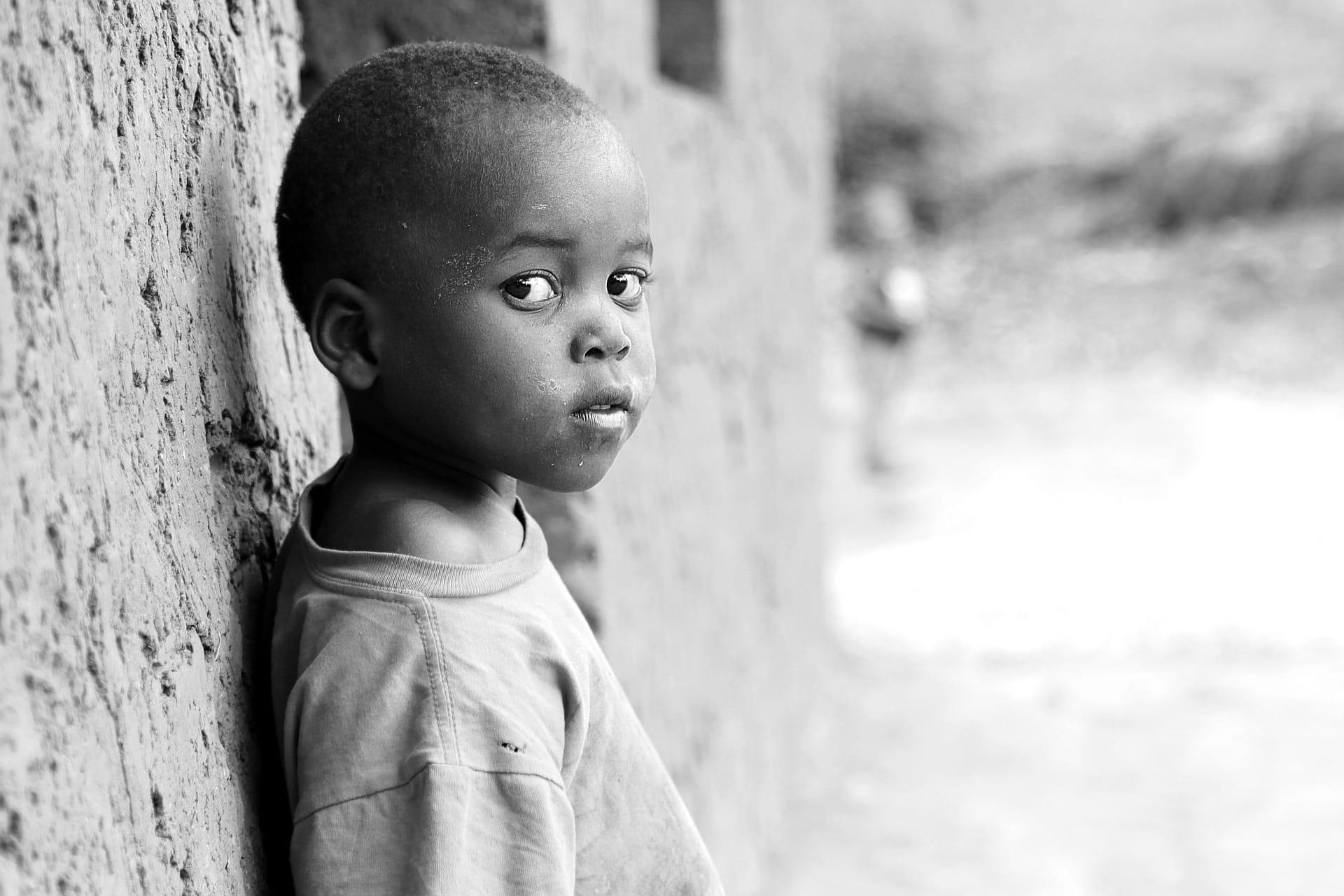 Otrok v Ugandi. Vir: Pixabay