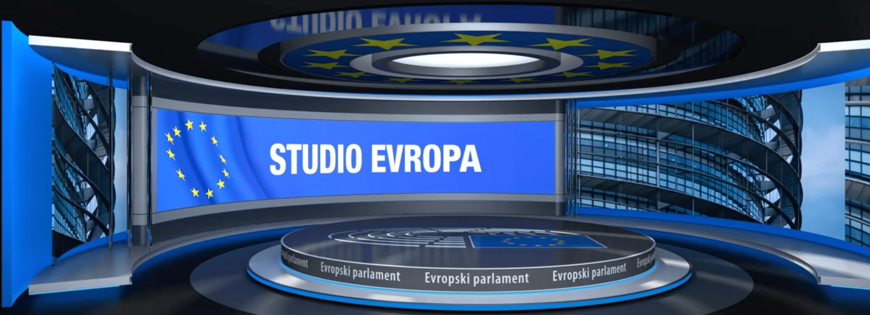Studio Evropa. Vir: Evropski parlament