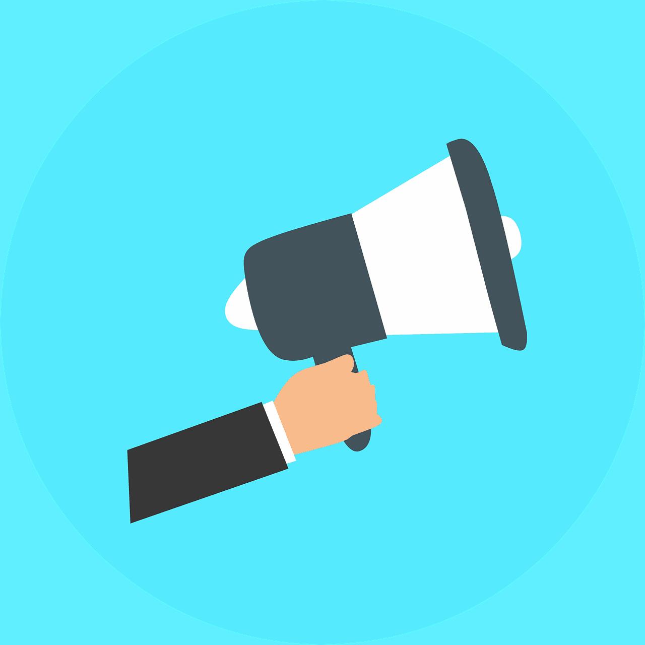 Poziv. Vir: Pixabay