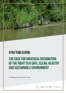 Čas je za univerzalno priznanje pravice do varnega, čistega, zdravega in trajnostnega okolja