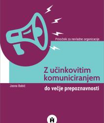 Priročnik Mirovnega inštituta: Z učinkovitim komuniciranjem do večje prepoznavnosti
