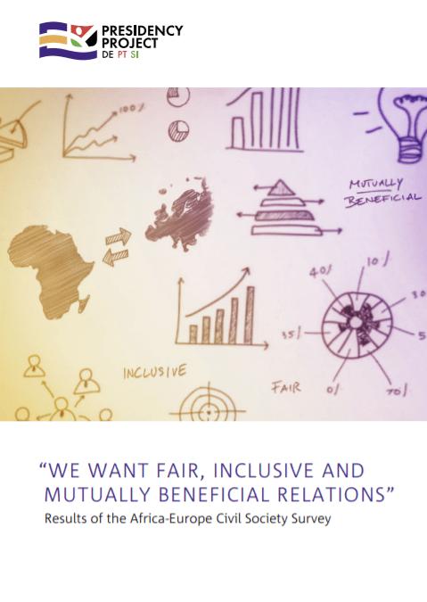Afriška in evropska civilna družba: Hočemo poštene, vključujoče in za obe strani koristne odnose