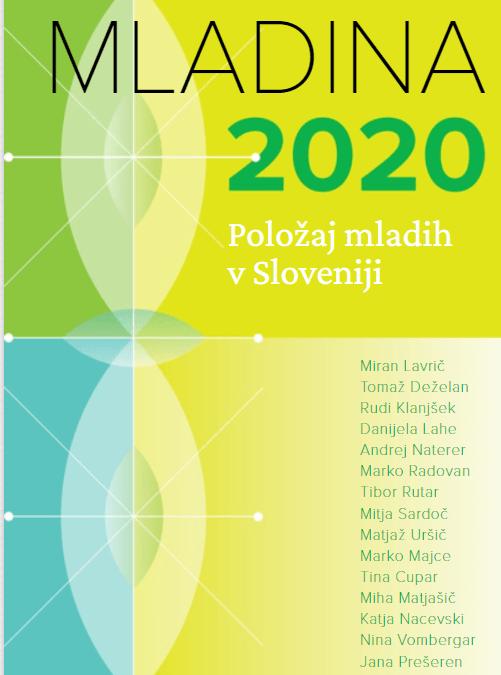 Naslovnica raziskave Mladina 2020