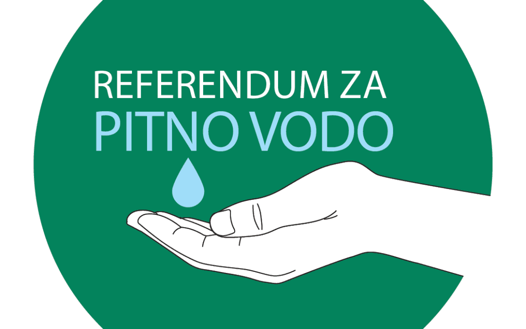 Logotip Referendum za pitno vodo