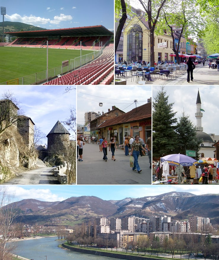 Zenica. Vir: Wikimedia