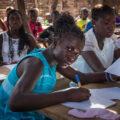 Afriške šolarke. Foto: Zvone Šeruga
