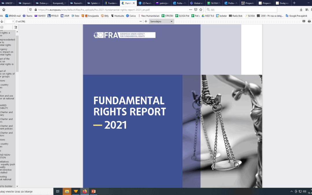 Kako je bilo s človekovimi pravicami v EU v letu 2020?