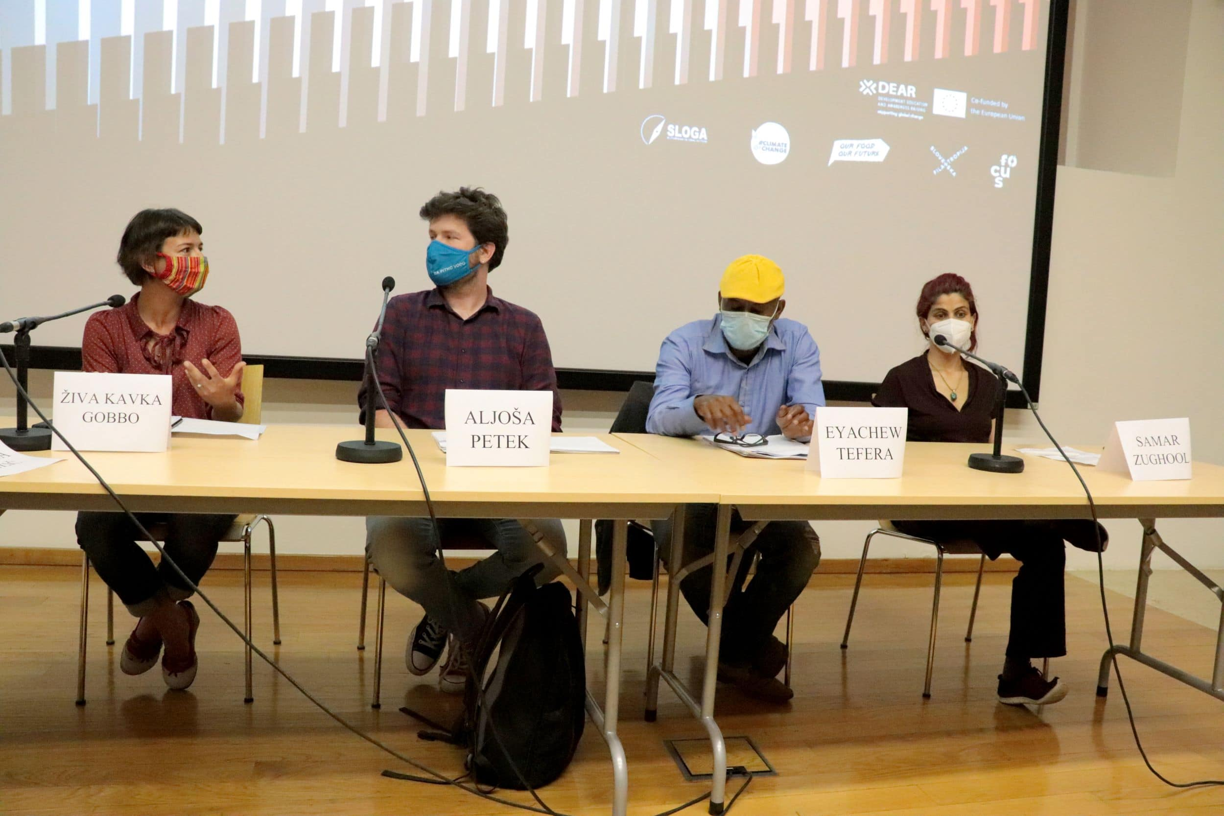 Udeleženci razprave. Foto: Jasna Rajnar Petrović