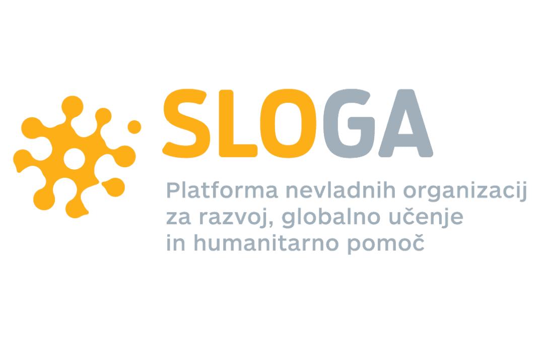 Platforma SLOGA logotip z napisom