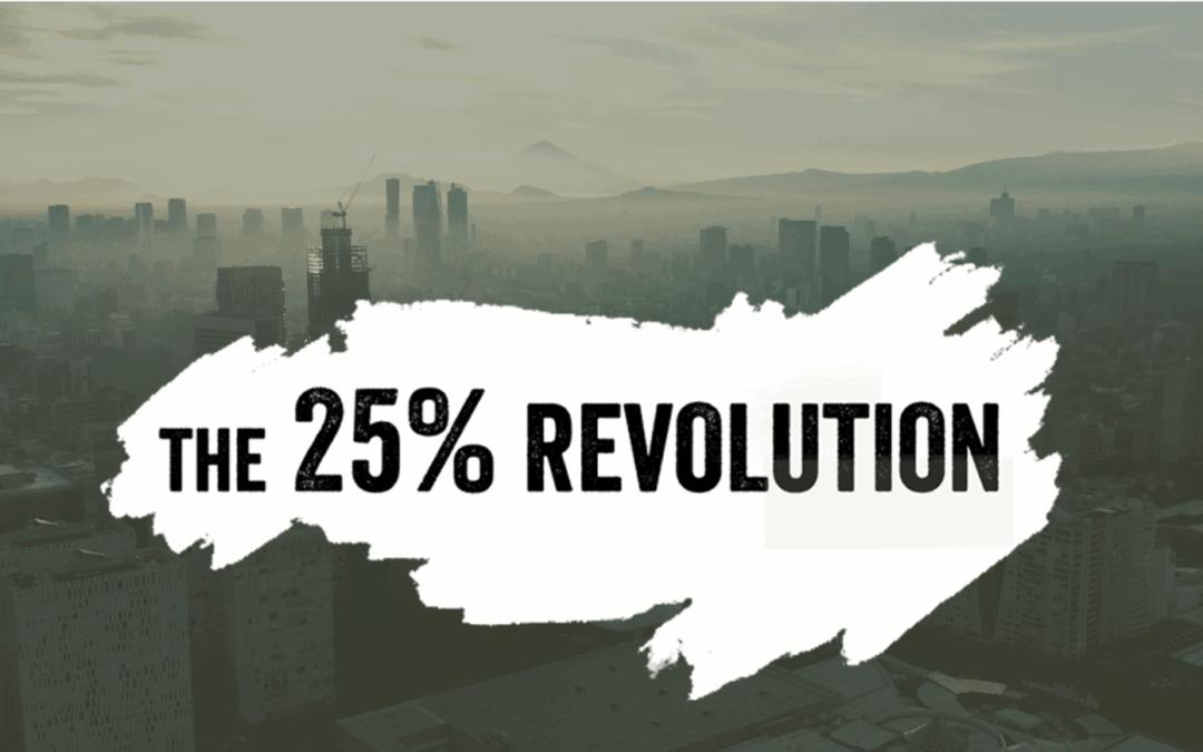 Revolucija 25 % ali kako velika mora biti manjšina, da preoblikuje družbo