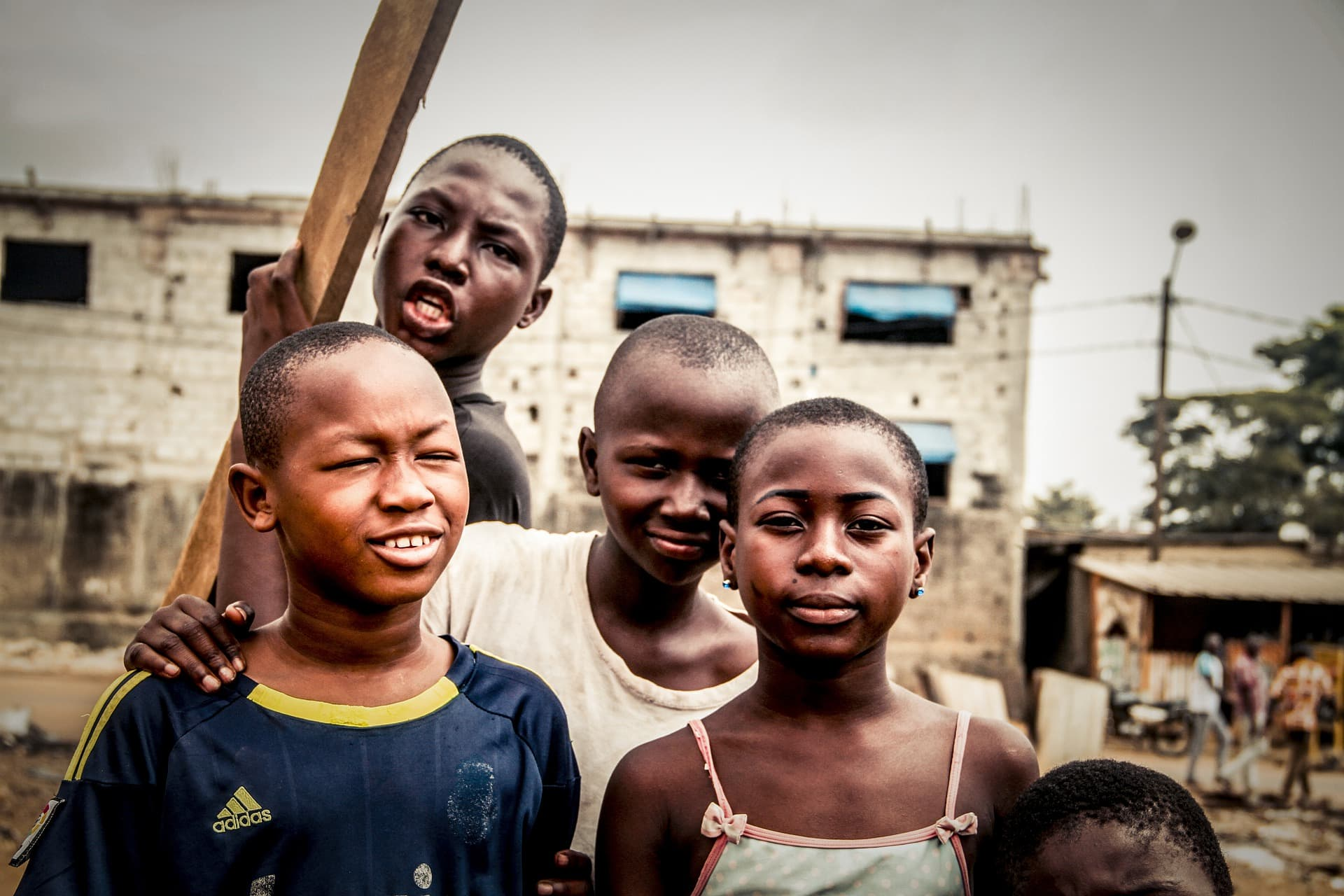 Prijatelji, Afričani
