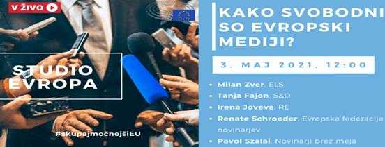 Kako svobodni so evropski mediji?