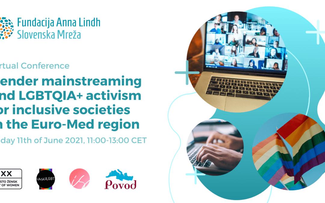 Virtualni maraton Fundacije Anna Lindh o integraciji načela enakosti spolov