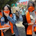 Akcija osveščanja o problemu nasilja na podlagi spola. Foto: KROG
