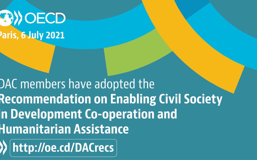 Spodbujanje civilne družbe v razvojnem sodelovanju in humanitarni pomoči