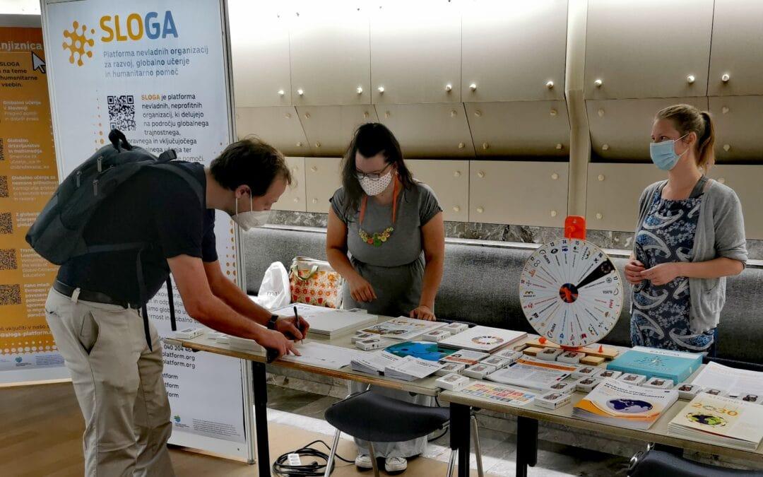 Platforma SLOGA se je predstavila učiteljem in študentom