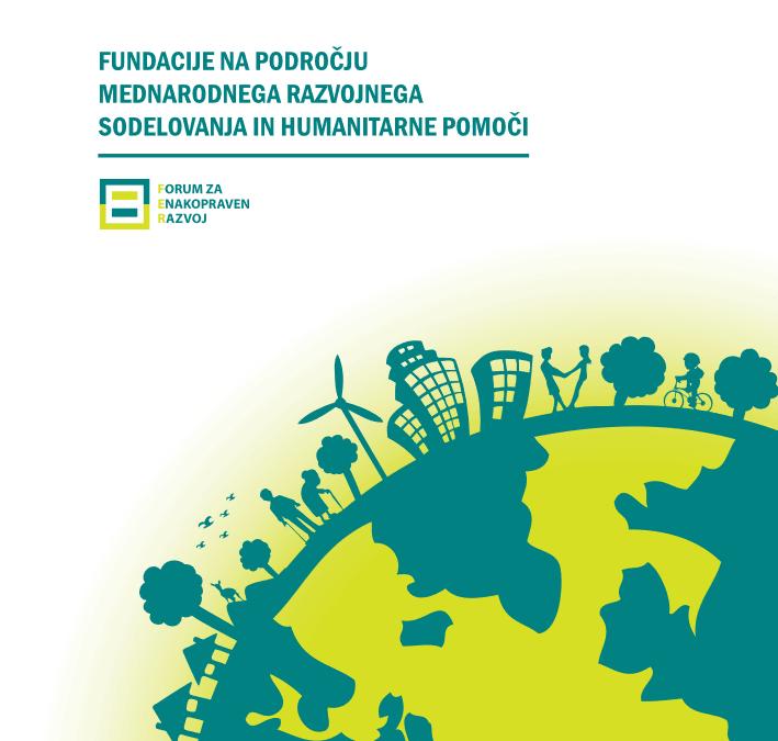 Fundacije na področju mednarodnega razvojnega sodelovanja in humanitarne pomoči