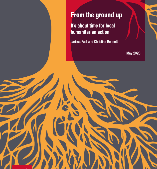 From the ground up: It's abount time for local humanitarian action