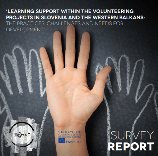 Learning support within the volunteering projects in Slovenia and the Western Balkans: The practices, challenges and needs for development