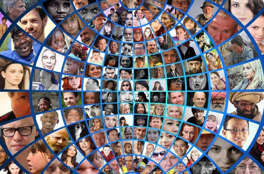 fotomontaža obrazov