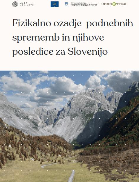 Fizikalno ozadje podnebnih sprememb in njihove posledice za Slovenijo