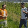 Prizor iz videa o kmetiji Zlate misli. Vir: Umanotera