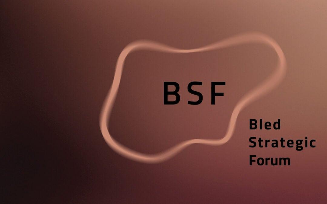 Blejski strateški forum logotip