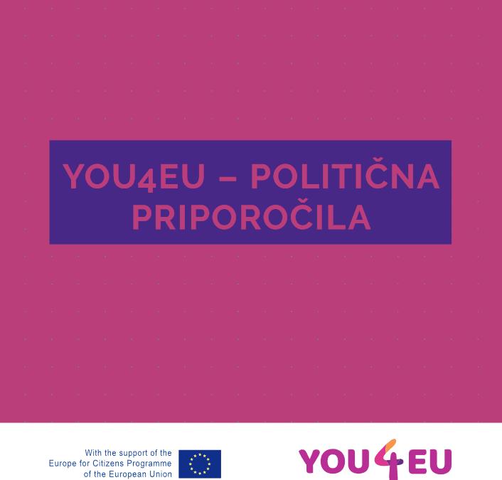 YOU4EU – politična priporočila
