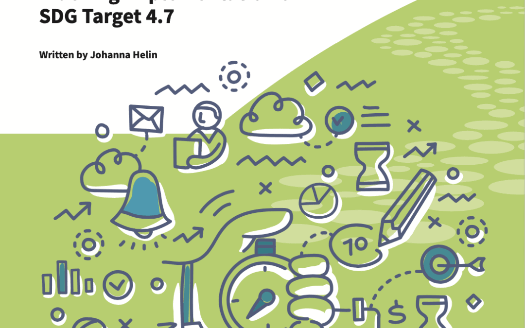 Indicators – The Need and Challenges of Tracking Implementation of Target 4.7