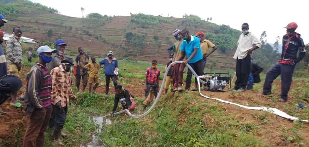 Nove vodne črpalke v Ruandi