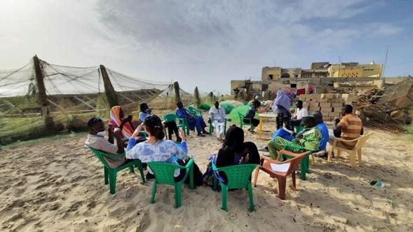 Fokusna skupina v Senegalu Vir: Univerza v Bologni