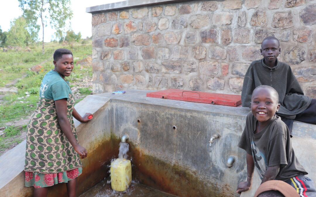 Družine v Kiguhu končno do pitne vode