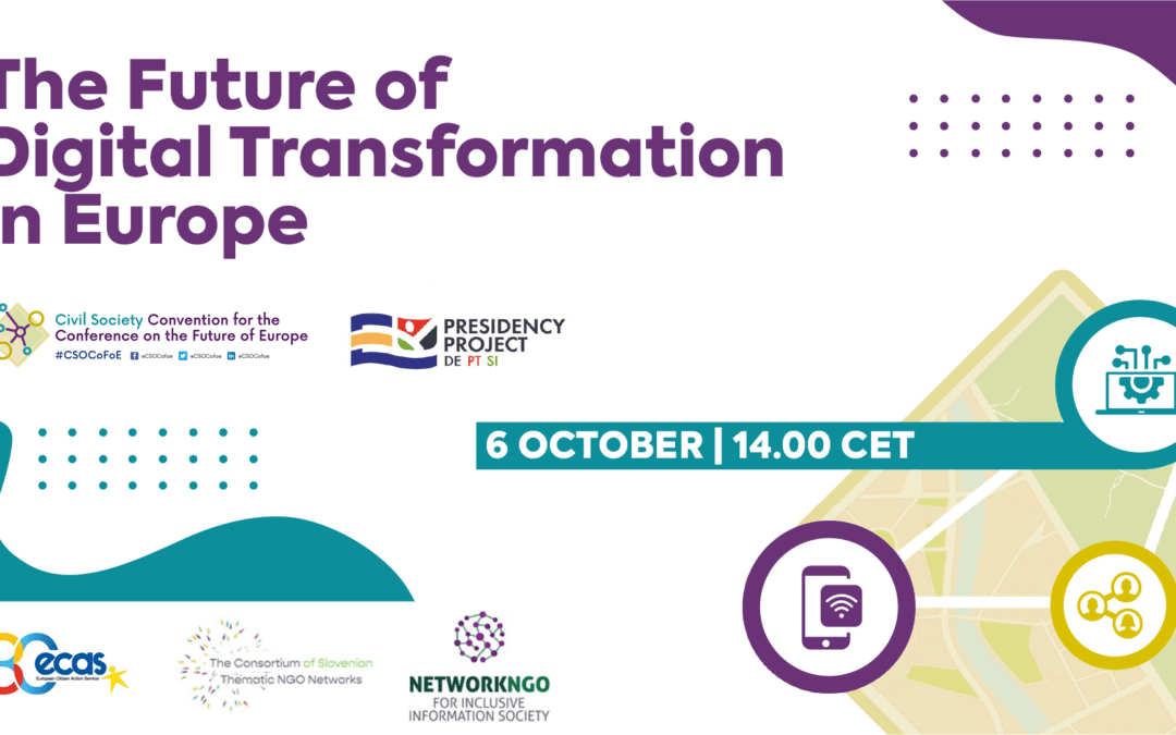 Prihodnost digitalne preobrazbe v Evropi