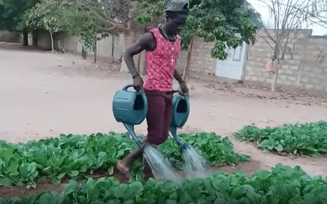 Med razvojnimi projekti Slovenskega karitasa je preskrba afriških lokalnih skupnosti z vodo. Foto: Karitas