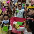 Ozaveščanje in izobraževanje o otrokovih pravicah v Egiptu. Vir: Zavod Krog