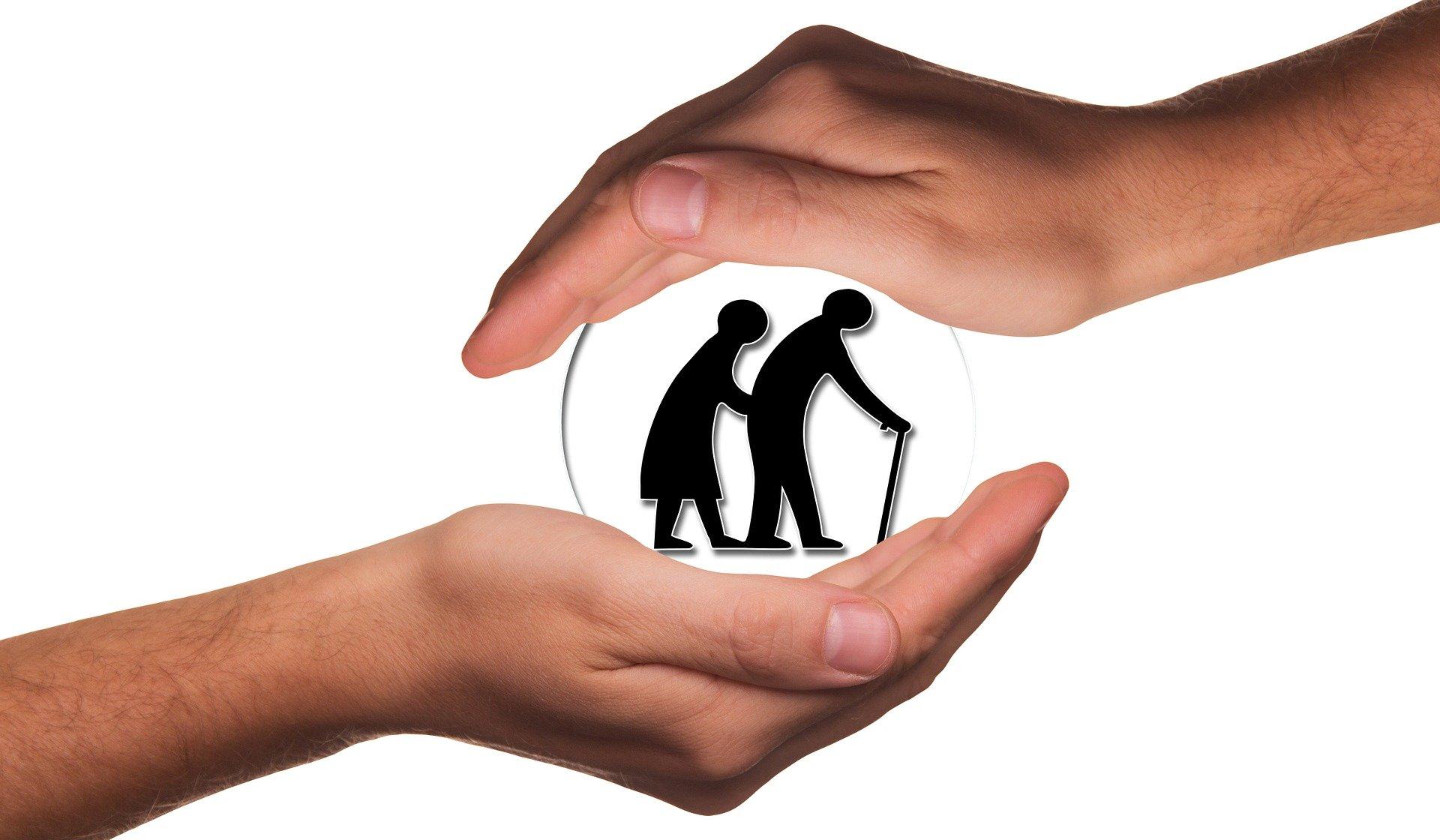 Skrb za starejše. Vir: Pixabay
