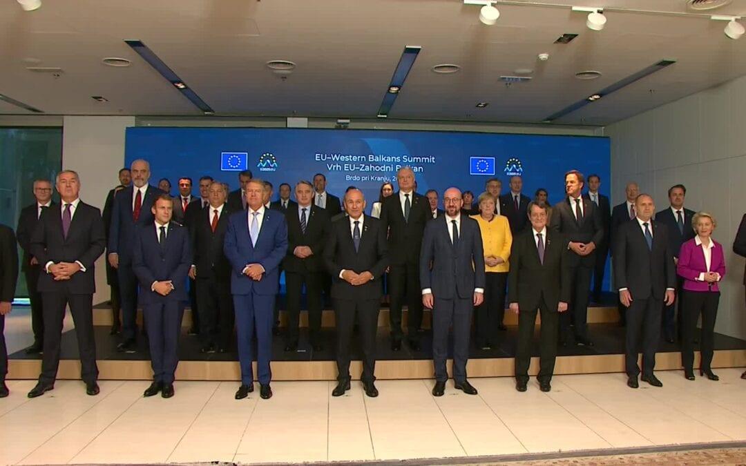 Izjava Platforme SLOGA ob vrhu EU – Zahodni Balkan