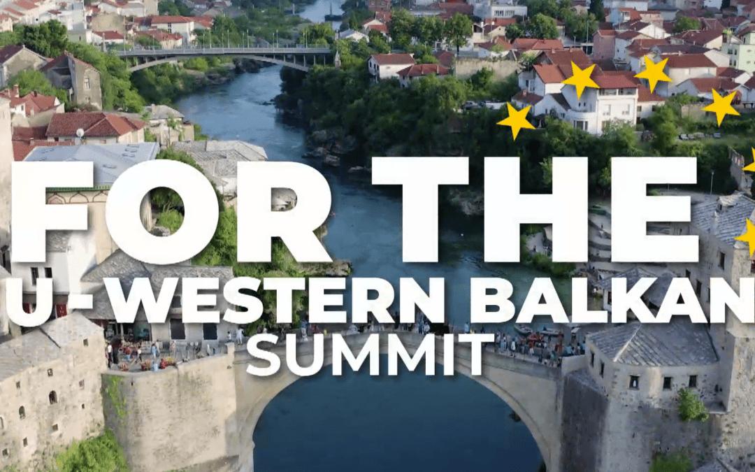 Vrh EU-Zahodni Balkan tudi o trajnostnem, zelenem, digitalnem