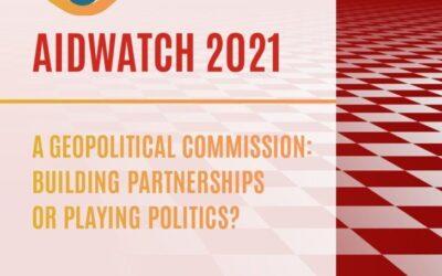 Aidwatch2021: Cilj 0,70 % BND za uradno razvojno pomoč se odmika