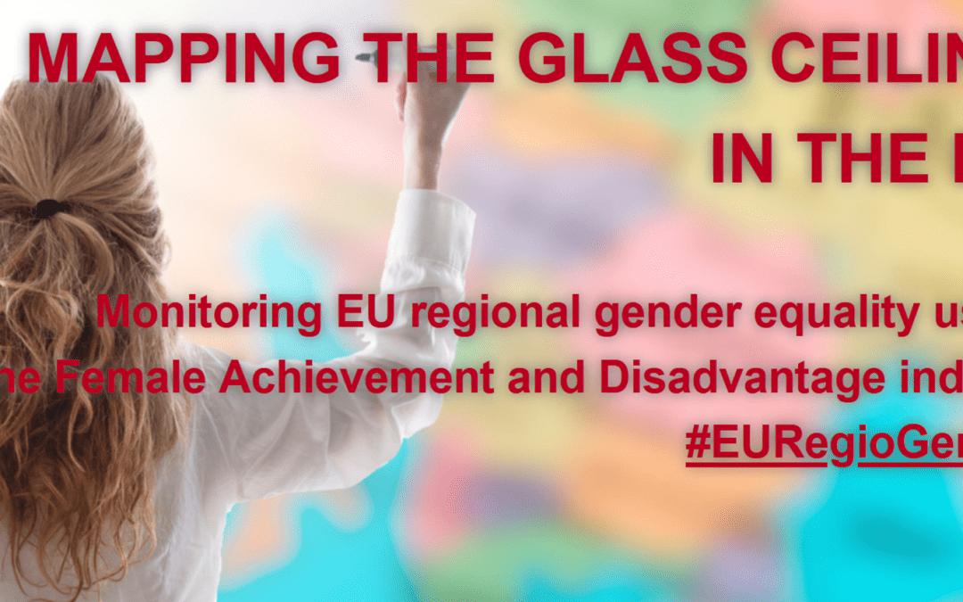 Mapiranje steklenega stropa: V katerih regijah EU je enakost spolov največja?