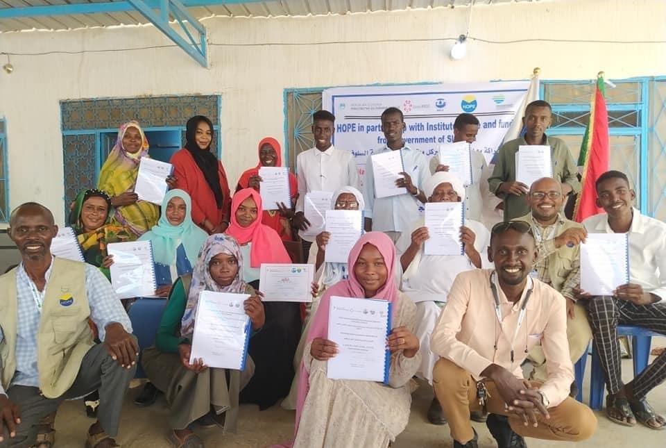 Projekt Zavoda Krog med Darfurci v polnem zamahu